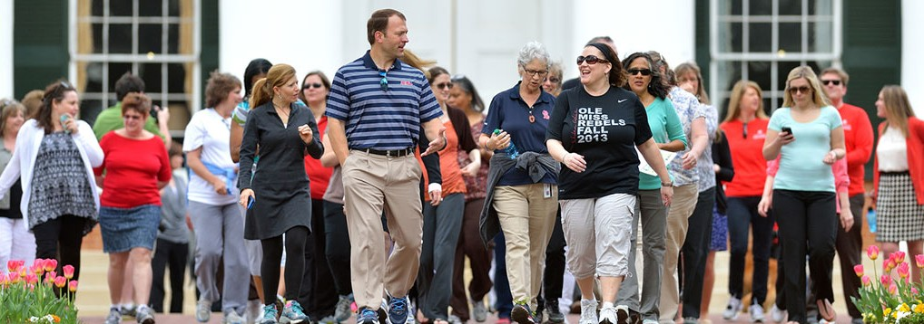 Athletics Director Ross Bjork will lead a walk on campus Wednesday morning as part of National Walking Day.